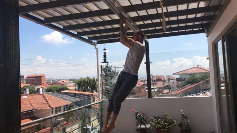 How to do pull-ups at home