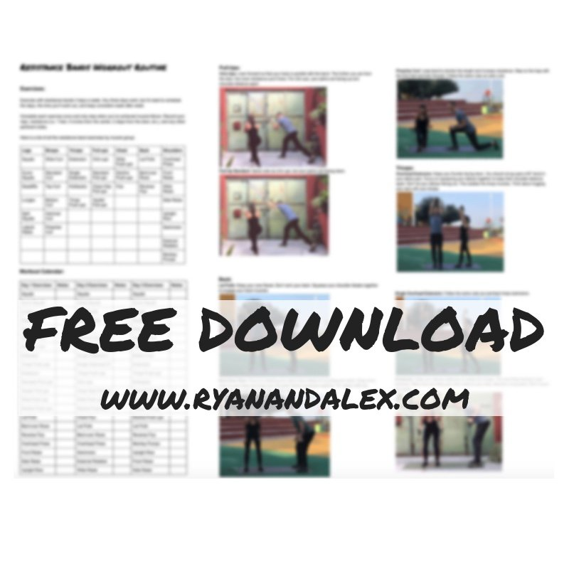 The Best Downloadable Insanity Workout Calendar Pdf Background