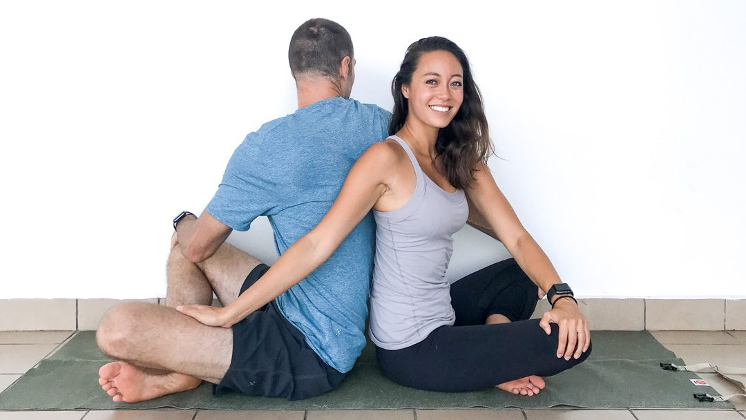 Couple's Yoga Poses That You Can Actually Do