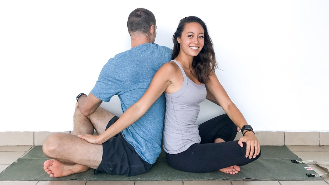 couple's yoga poses that you can actually do ryan and alex duo life