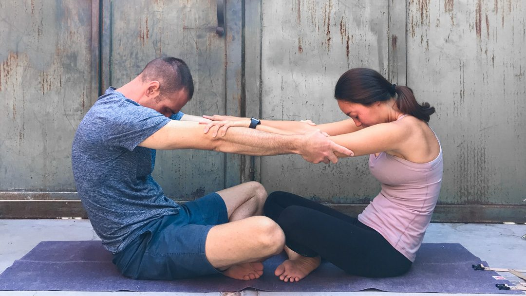 Lessons Learned From a 14-Day Couple's Yoga Challenge