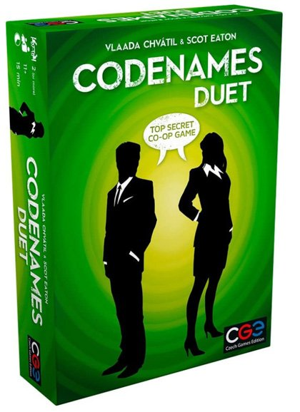 Board Games for Couples Ryan and Alex Duo Life Codenames Duet