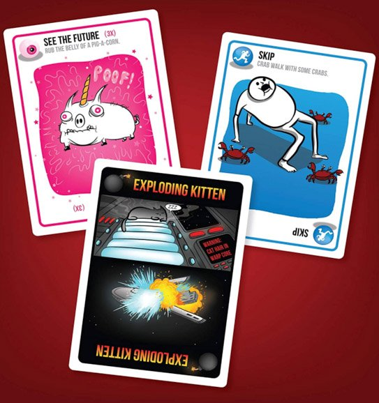 Board Games for Couples Ryan and Alex Duo Life Exploding Kittens