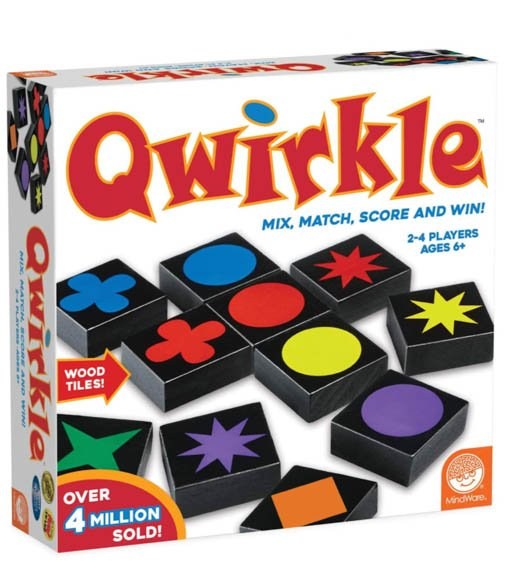 Board Games for Couples Ryan and Alex Duo Life Qwirkle