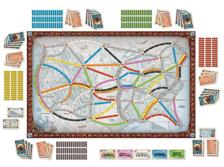 Board Games for Couples Ryan and Alex Duo Life Ticket to Ride