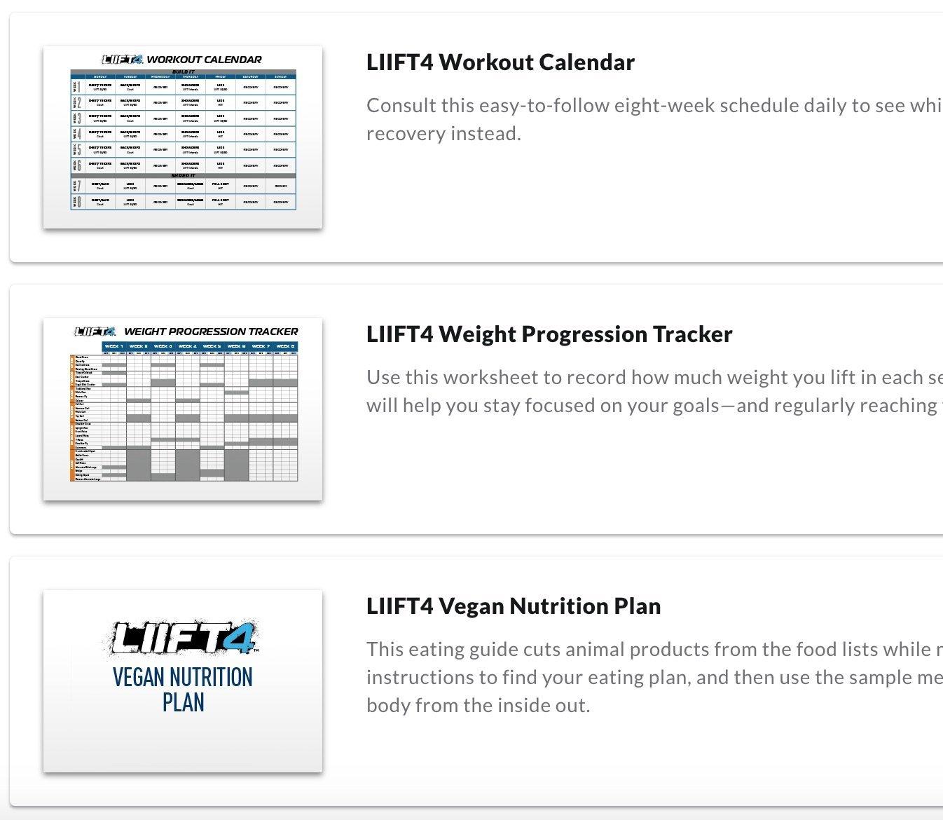beachbody on demand free trial nutrition plan, weight tracker, program calendar