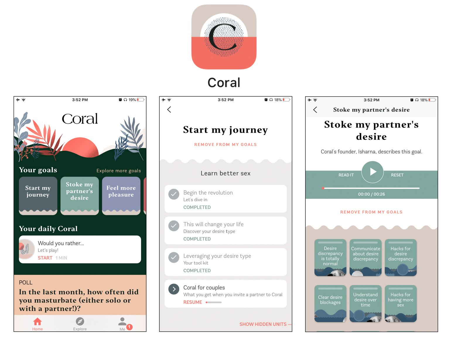 Coral Best Apps for Married Couples Ryan and Alex Duo Life