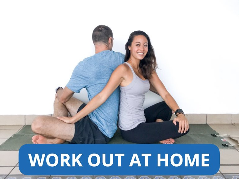 ryan and alex duo life home page for work out at home