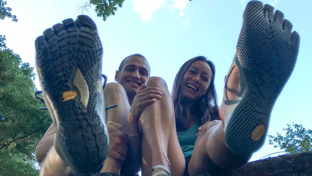 Vibram FiveFingers Review Ryan and Alex Duo Life