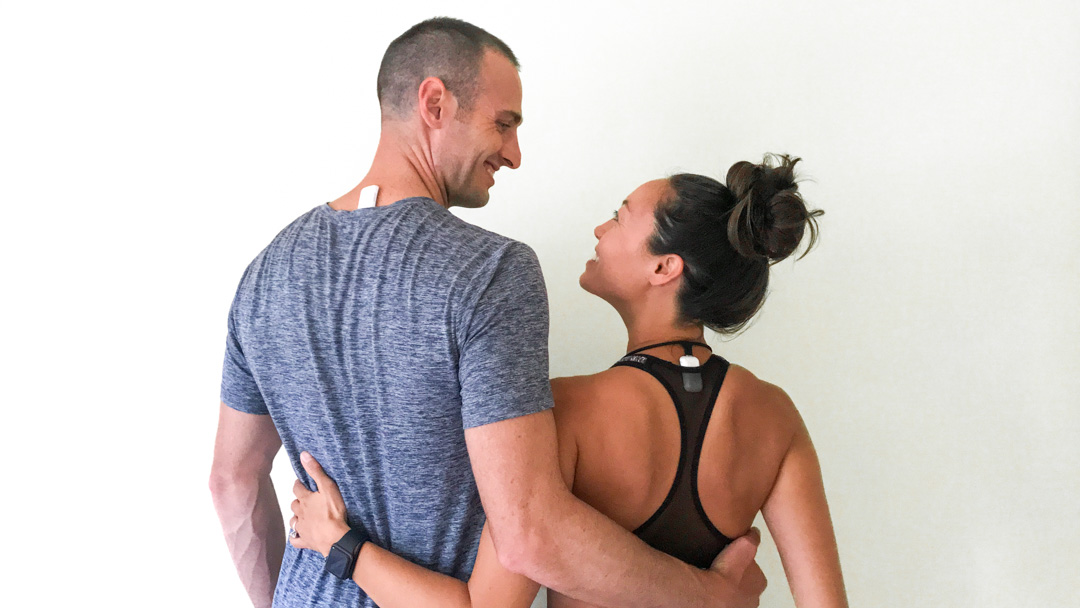 upright go 2 review posture trainer experiment ryan and alex duo life