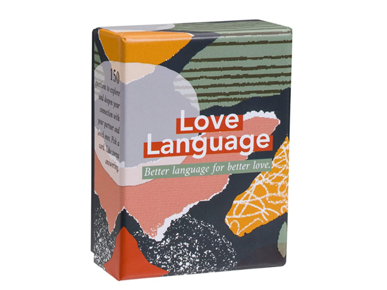Board Games for Couples Ryan and Alex Duo Life Love Language Card Game