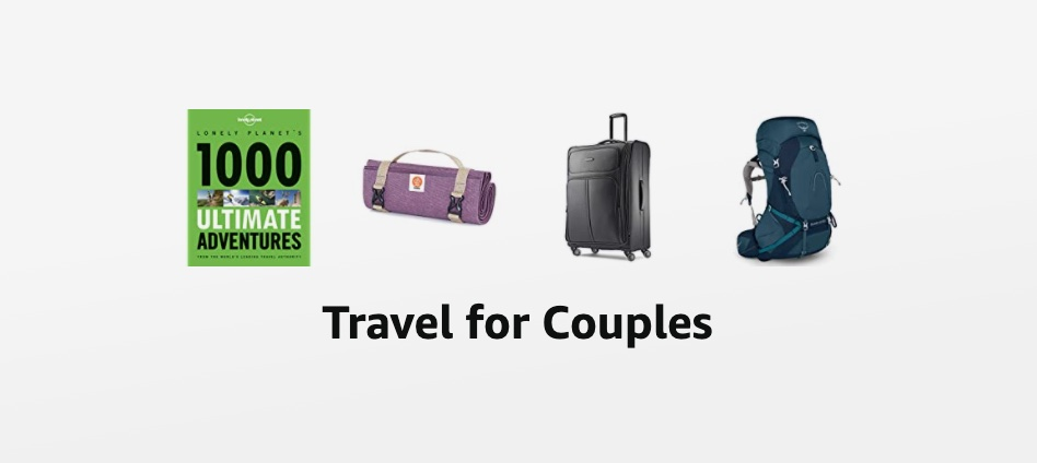 Couples Backpacking Shopping List
