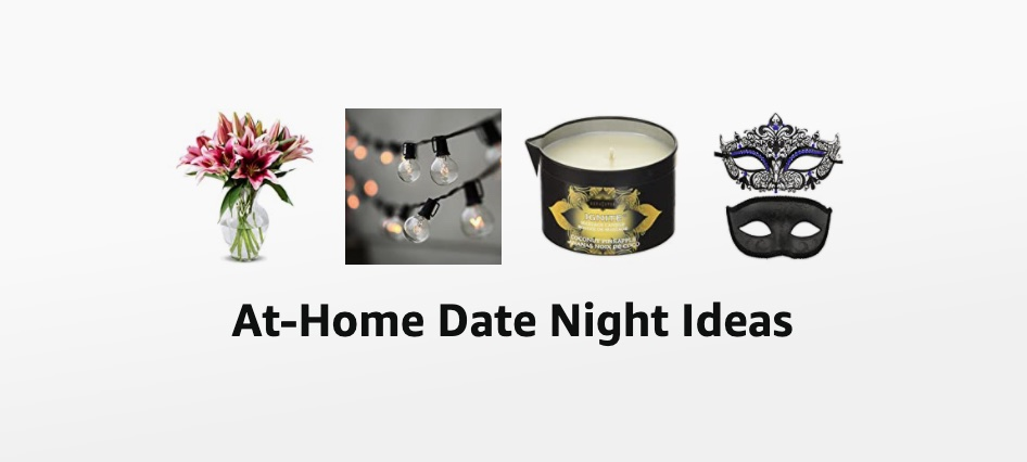at home date ideas shopping list