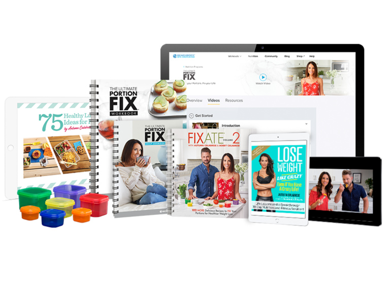 30-Day weight loss challenge program recommendation ultimate portion fix
