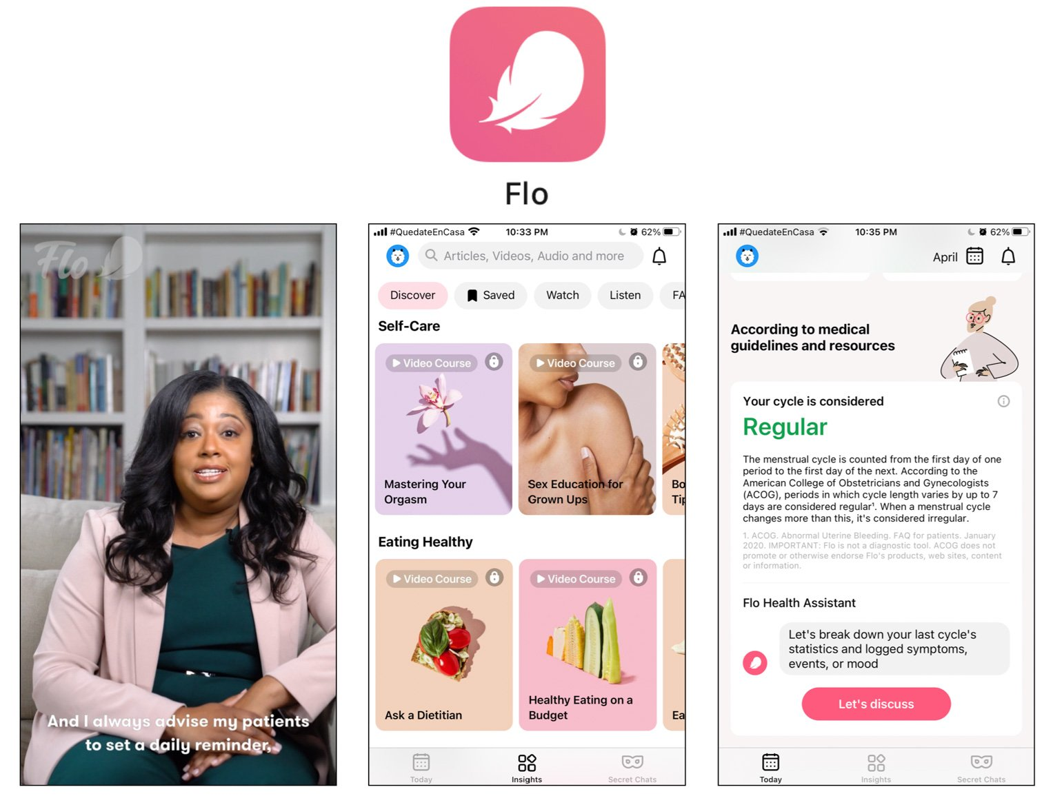 Flo Best Self-Care Apps