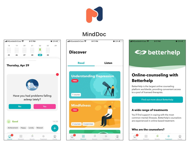 MindDoc Best Self-Care Apps
