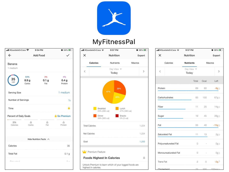 MyFitnessPal Best Self-Care Apps