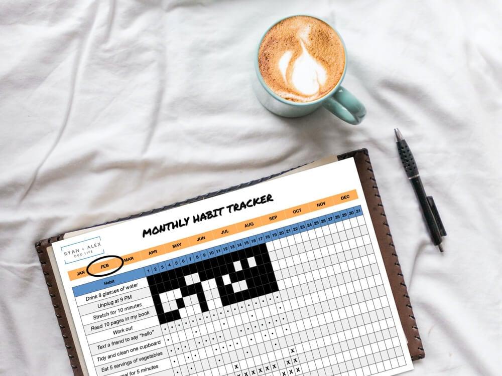 Habit Tracker Printable Form