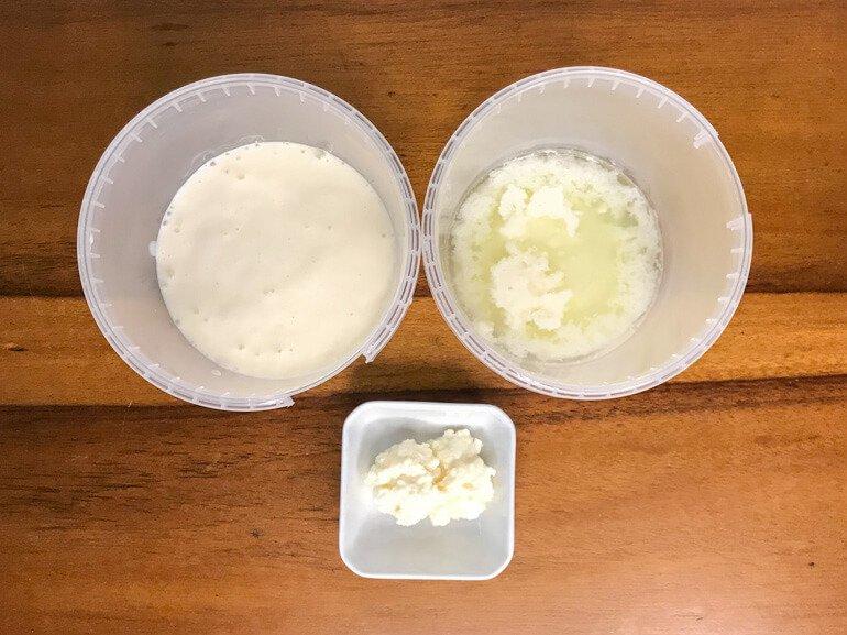 How to Make Kefir Yogurt and Whey